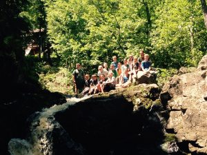 Getting up close and personal with Powderhorn Falls