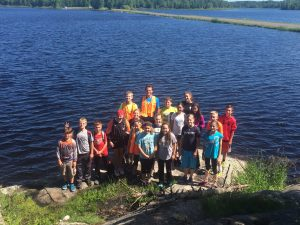 Exploring nature at the Gile Flowage
